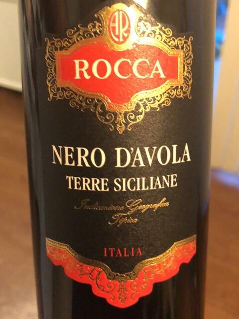 Angelo Rocca - Nero d'Avola - 2015