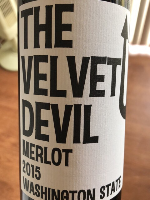 Charles Smith - The Velvet Devil Merlot - 2015
