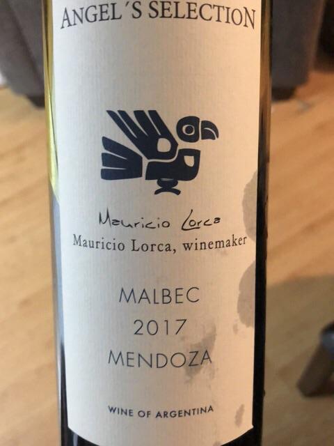 Mauricio Lorca - Angel's Selection Malbec - 2017