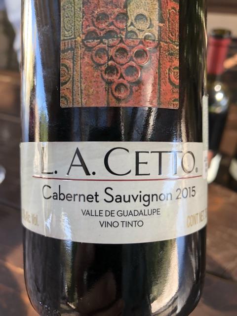 L. A. Cetto - Cabernet Sauvignon - 2015