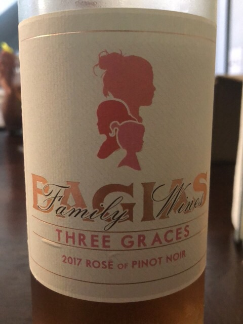 Bagias Family - Three Graces Rosé of Pinot Noir - 2017