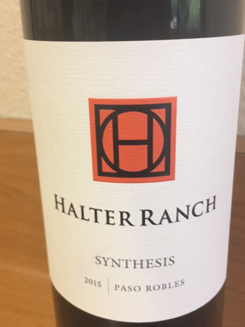 Halter Ranch - Synthesis - 2015