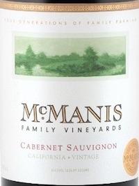 McManis - Cabernet Sauvignon - 2015