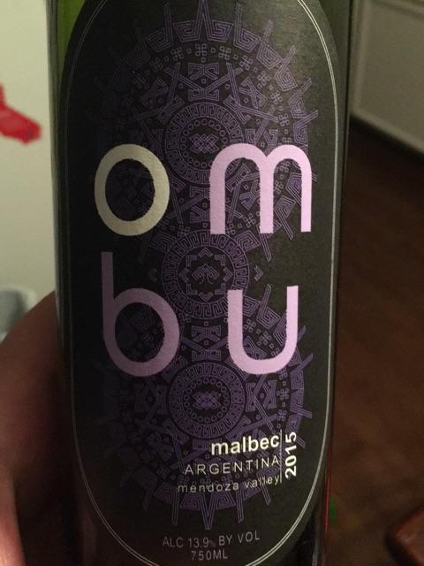 Ombu - Malbec - 2015