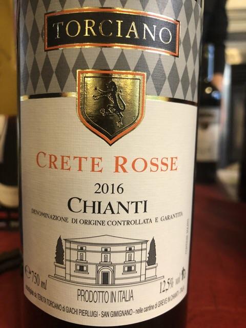 Torciano - Crete Rosse Chianti - 2016