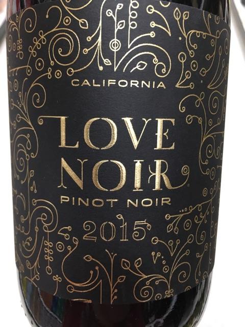 Love Noir - Pinot Noir - 2015