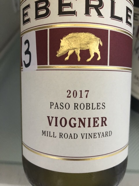 Eberle - Mill Road Vineyard Viognier - 2017