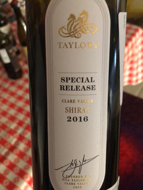 Taylors / Wakefield - Special Release Shiraz Reserve Parcel - 2016