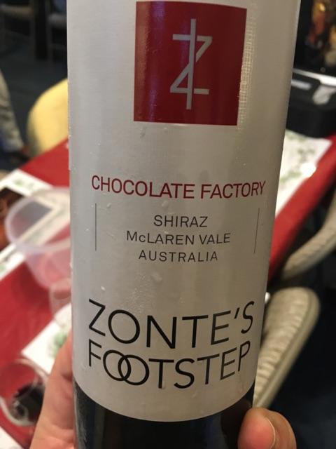 Zonte's Footstep - Chocolate Factory McLaren Vale Shiraz - 2013