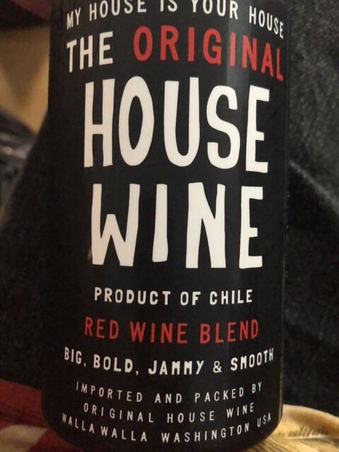 Original House Wine - Red Blend - 2013