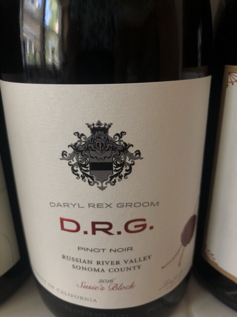 Daryl Rex Groom - Russian River Valley Pinot Noir - 2016