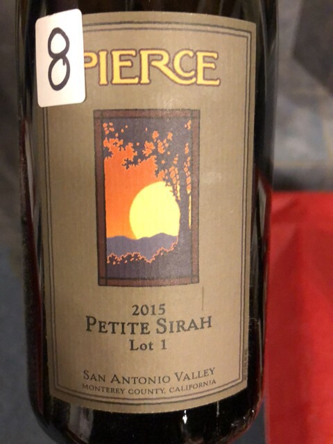 Pierce - Petite Sirah Lot 1 - 2015