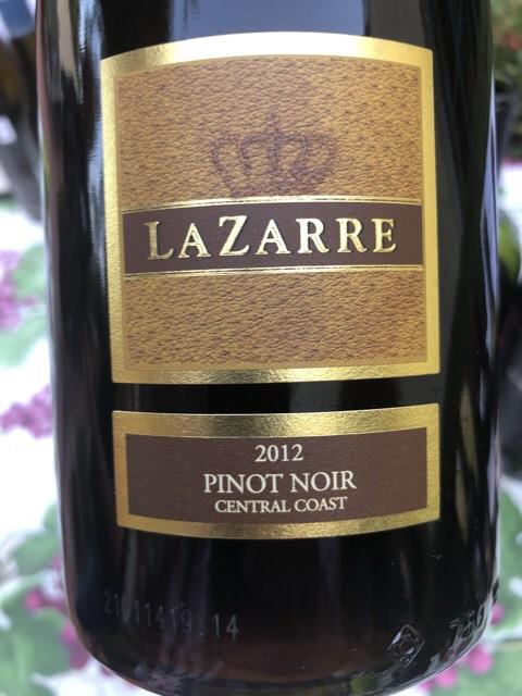 Lazarre - Pinot Noir - 2012