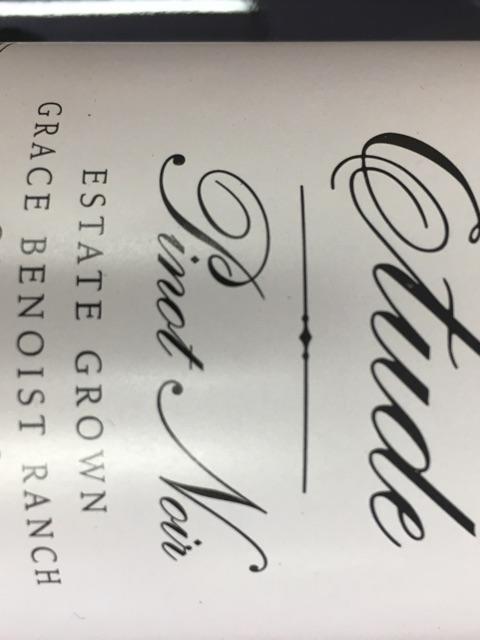 Etude - Pinot Noir Grace Benoist Ranch - 2014