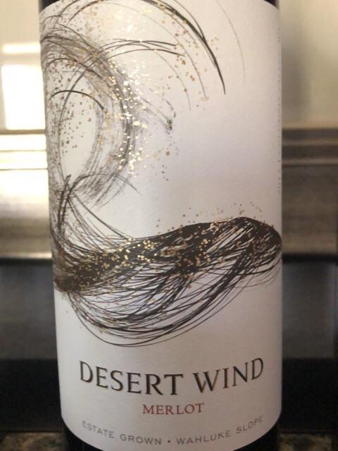 Desert Wind - Merlot - 2015