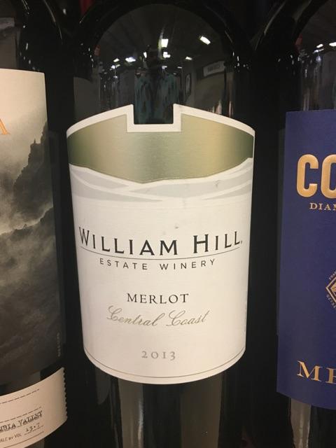 William Hill - Central Coast Merlot - 2013