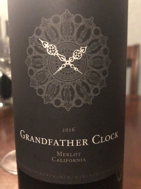 GrandFather - Clock Merlot - 2016