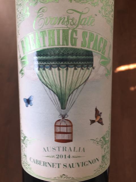 Evans & Tate - Breathing Space Cabernet Sauvignon - 2014
