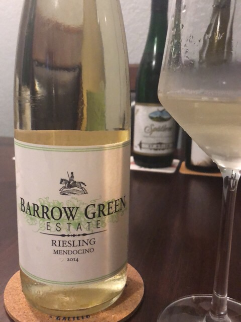 Barrow Green Estate - Riesling - 2014