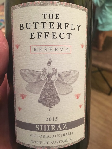 The Butterfly Effect - Reserve Shiraz - 2015
