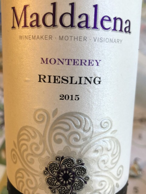 Maddalena Vineyards - Riesling - 2015