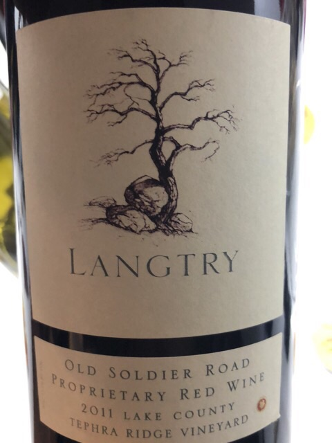 Langtry Estate - Old Soldier Road Tephra Ridge Vineyard Proprietary Red - 2011