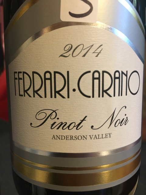 Ferrari Carano - Pinot Noir - 2014
