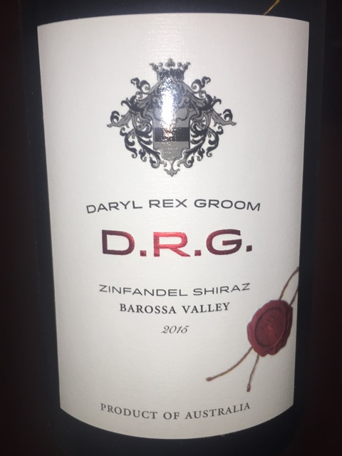 Daryl Rex Groom - Barossa Valley Zinfandel - Shiraz - 2016