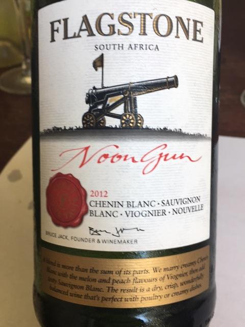 Flagstone - Noon Gun Chenin Blanc - Sauvignon Blanc - Viognier - 2012