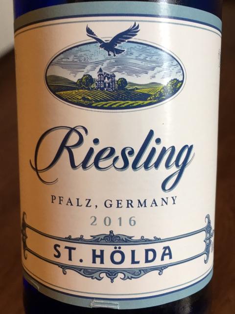 St. Hölda - Riesling - 2016
