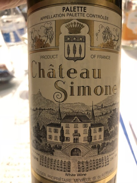 Château Simone - Palette Blanc - 2011
