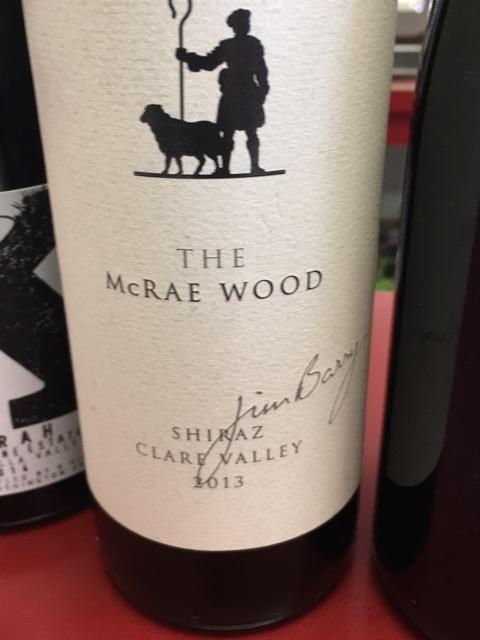 Jim Barry - The McRae Wood Shiraz - 2013