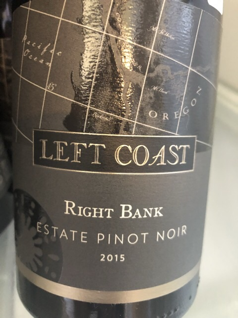 Left Coast Cellars - Right Bank Pinot Noir - 2015