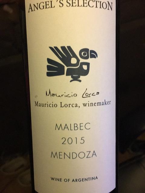 Mauricio Lorca - Angel's Reserve Malbec - 2015