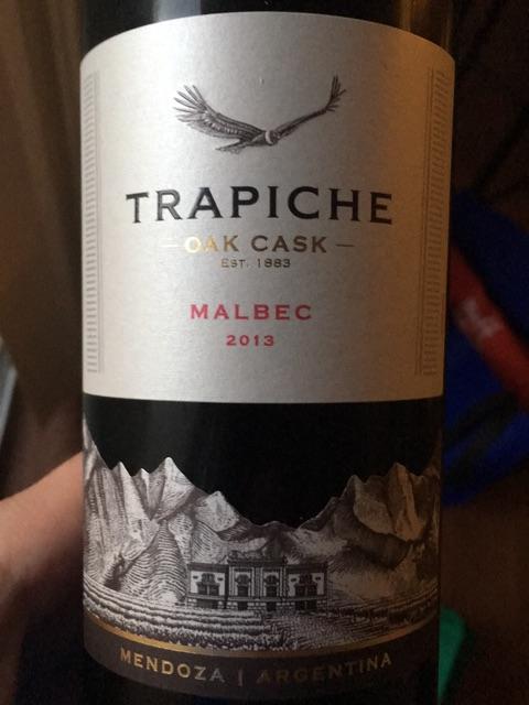 Trapiche - Oak Cask Malbec - 2013