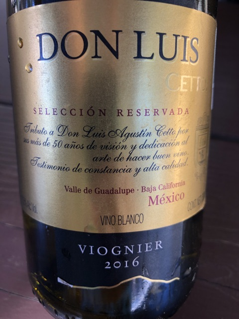 L. A. Cetto - Don Luis Viognier - 2016