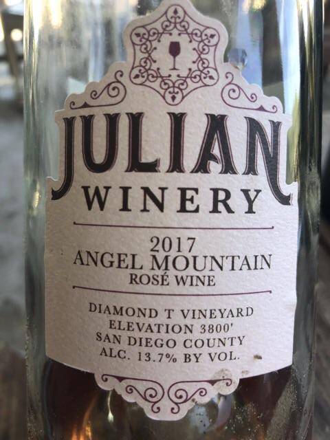 Julian Winery - Angel Mountain - 2017