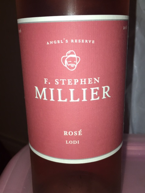 F. Stephen Millier - Angel's Reserve Rosé - 2015