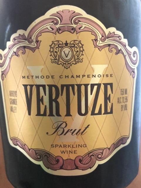 Vertuze - Arroyo Grande Valley Methode Champenoise Brut - N.V.