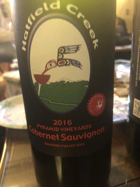 Hatfield Creek Vineyards - Pyramid Vineyards Cabernet Sauvignon - 2016
