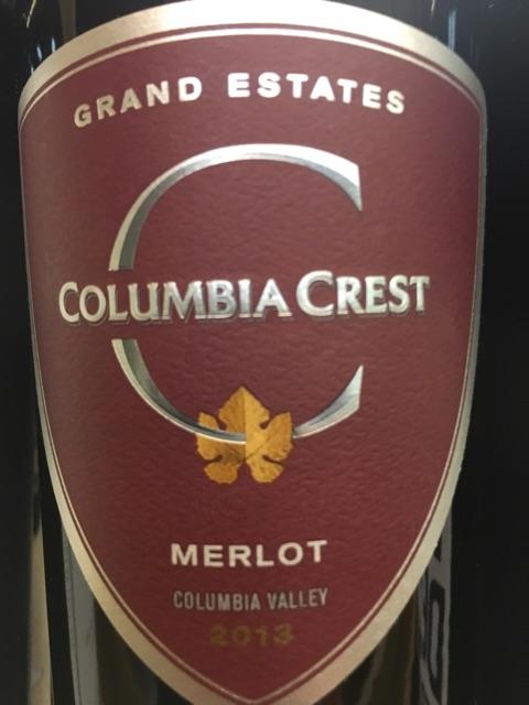 Columbia Crest - Grand Estates Merlot - 2013