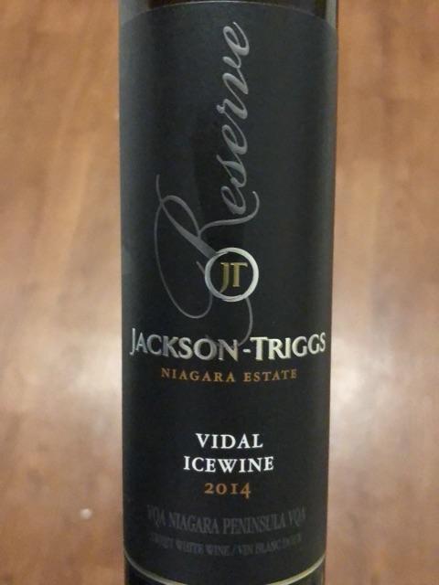 Jackson-Triggs - Niagara Estate Reserve Vidal Icewine - 2014