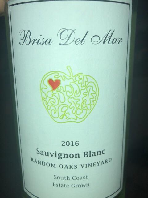 Brisa del Mar - Random Oaks Vineyard Sauvignon Blanc - 2016