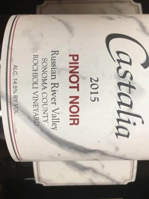 Castalia - Rochioli Vineyard Pinot Noir - 2015