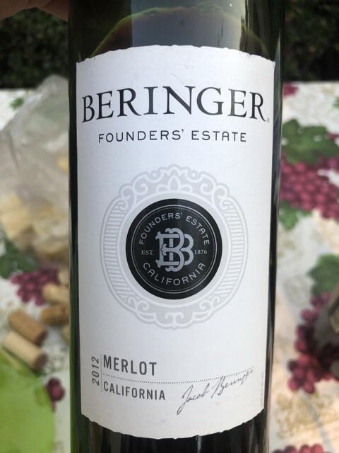Beringer - Founders' Estate Merlot - 2012