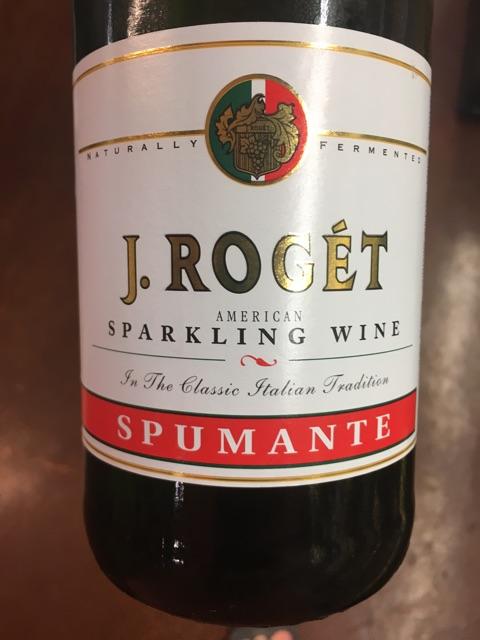 J. Roget - American Spumante - 2009