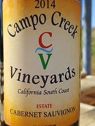 Campo Creek Vineyards - Cabernet Sauvignon - 2014