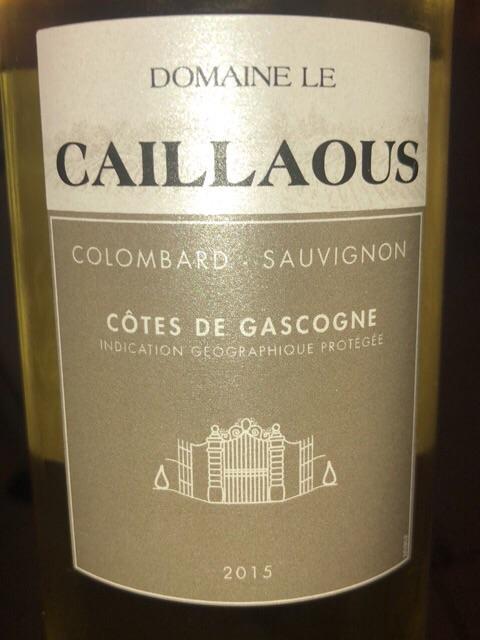 Domaine Le Caillaous - Côtes de Gascogne Colombard - Sauvignon - 2015