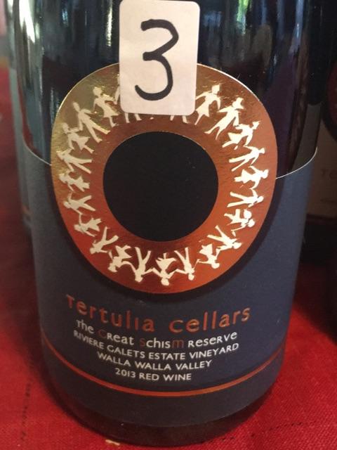 Tertulia Cellars - The Great Schism Reserve - 2013