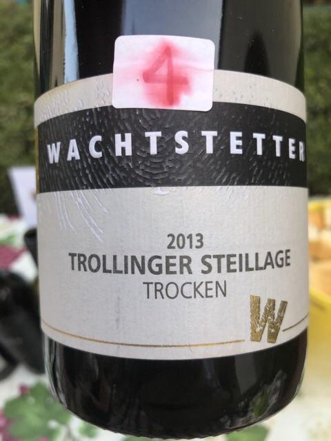 Wachtstetter - Trollinger Steillage Trocken - 2013